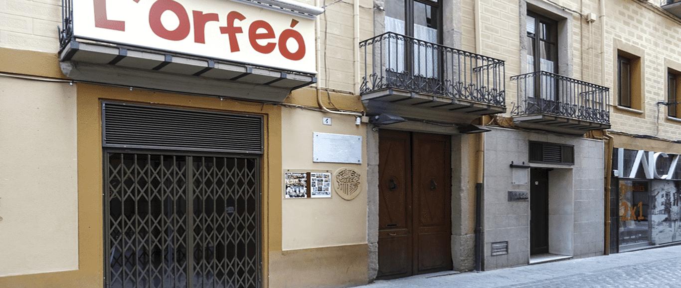 L'EDIFICI DE L'ORFEÓ