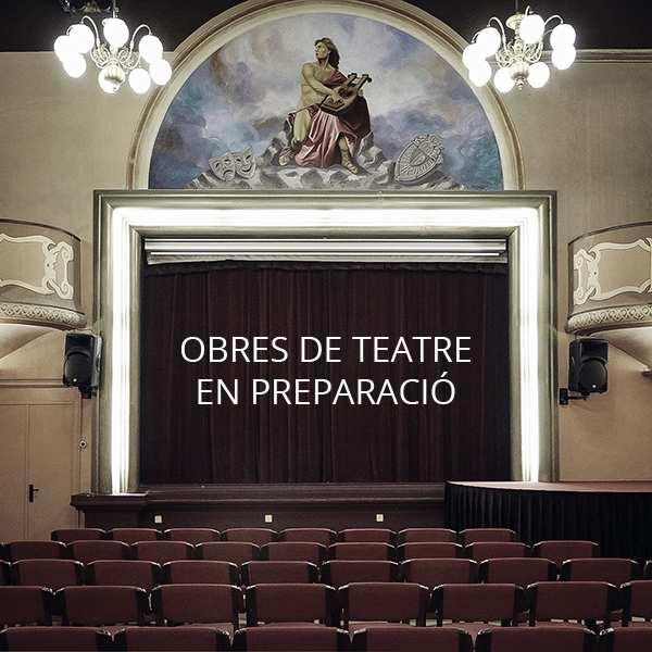 TEATRE EN PREPARACIÓ